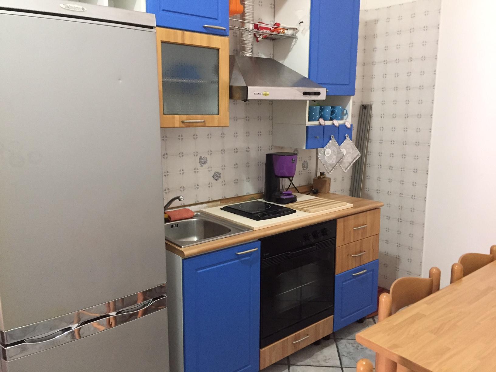 Cucina abitabile appartamento Hotel Vietri Coast