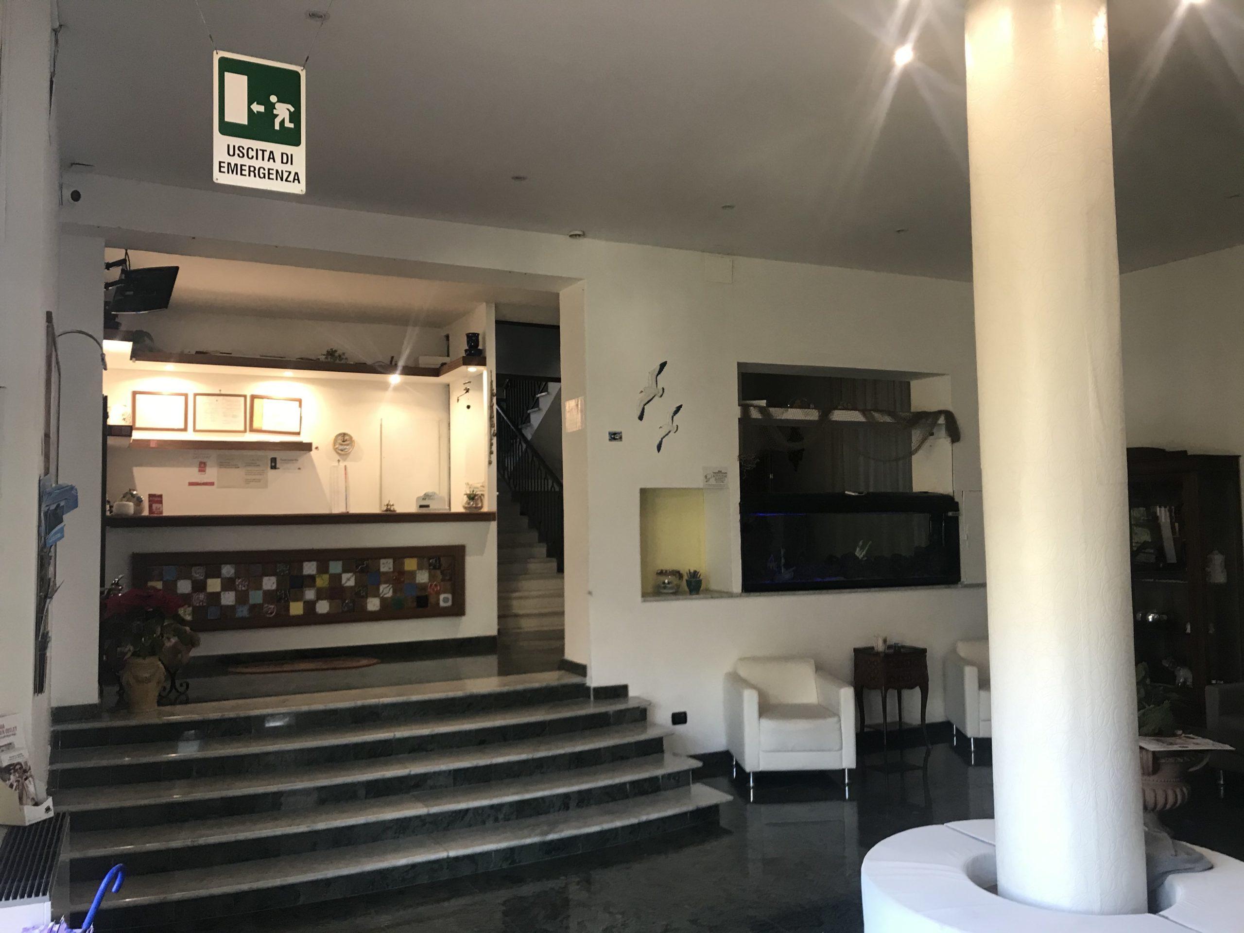 Hall dell'Hotel Vietri Coast