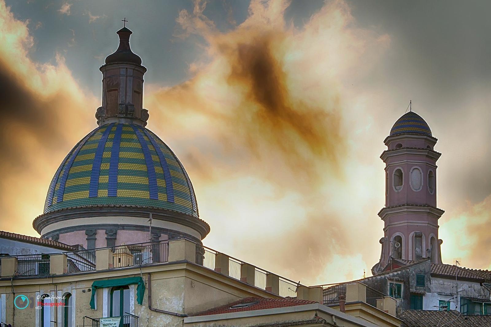 Cupola Maiolicata di Vietri sul Mare sa Vietri Coast Hotel