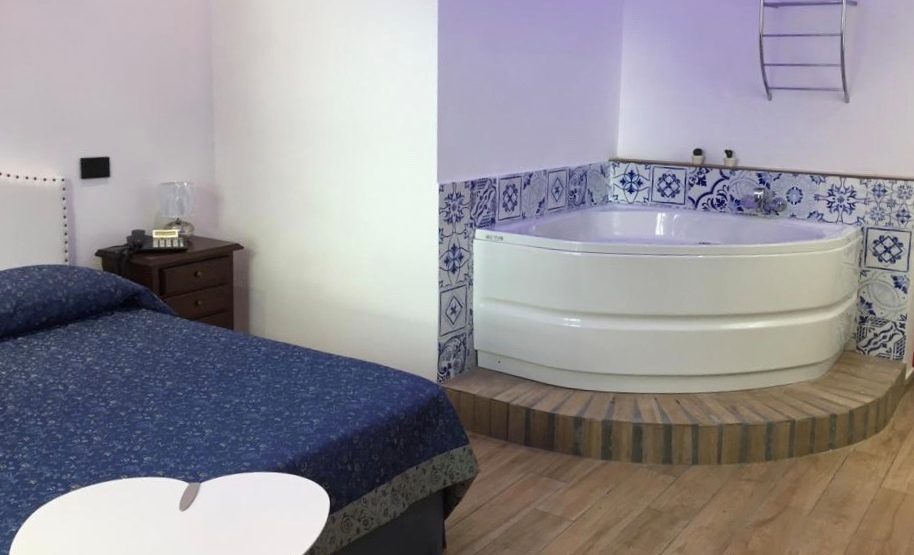 Suite con vasca idromassaggio Hotel Vietri Coast