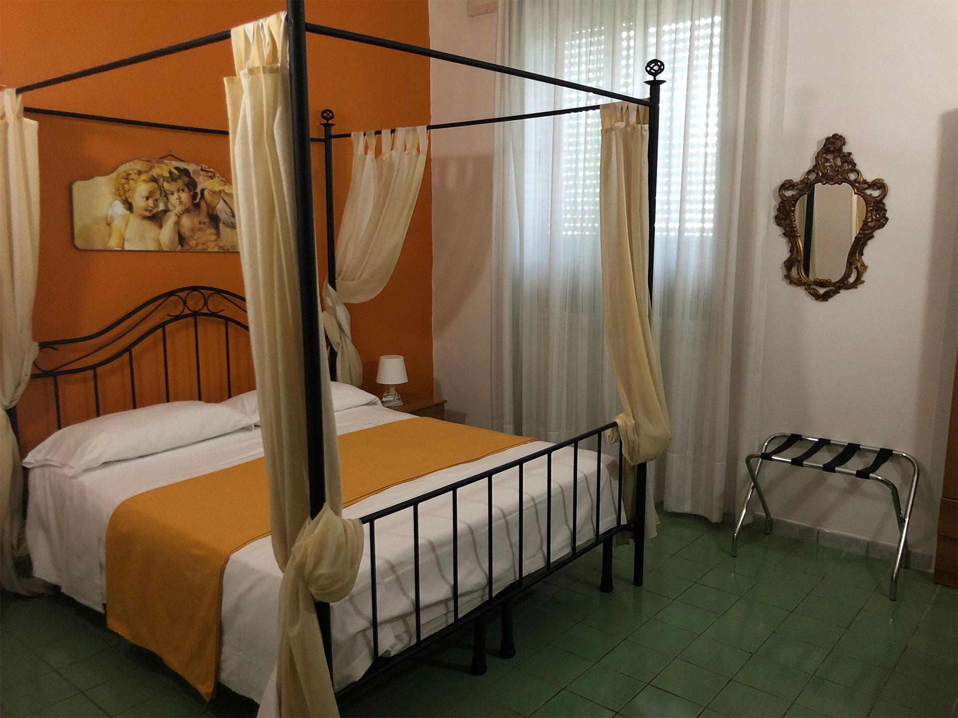 Matrimoniale standard con letto a baldacchino Hotel Vietri Coast