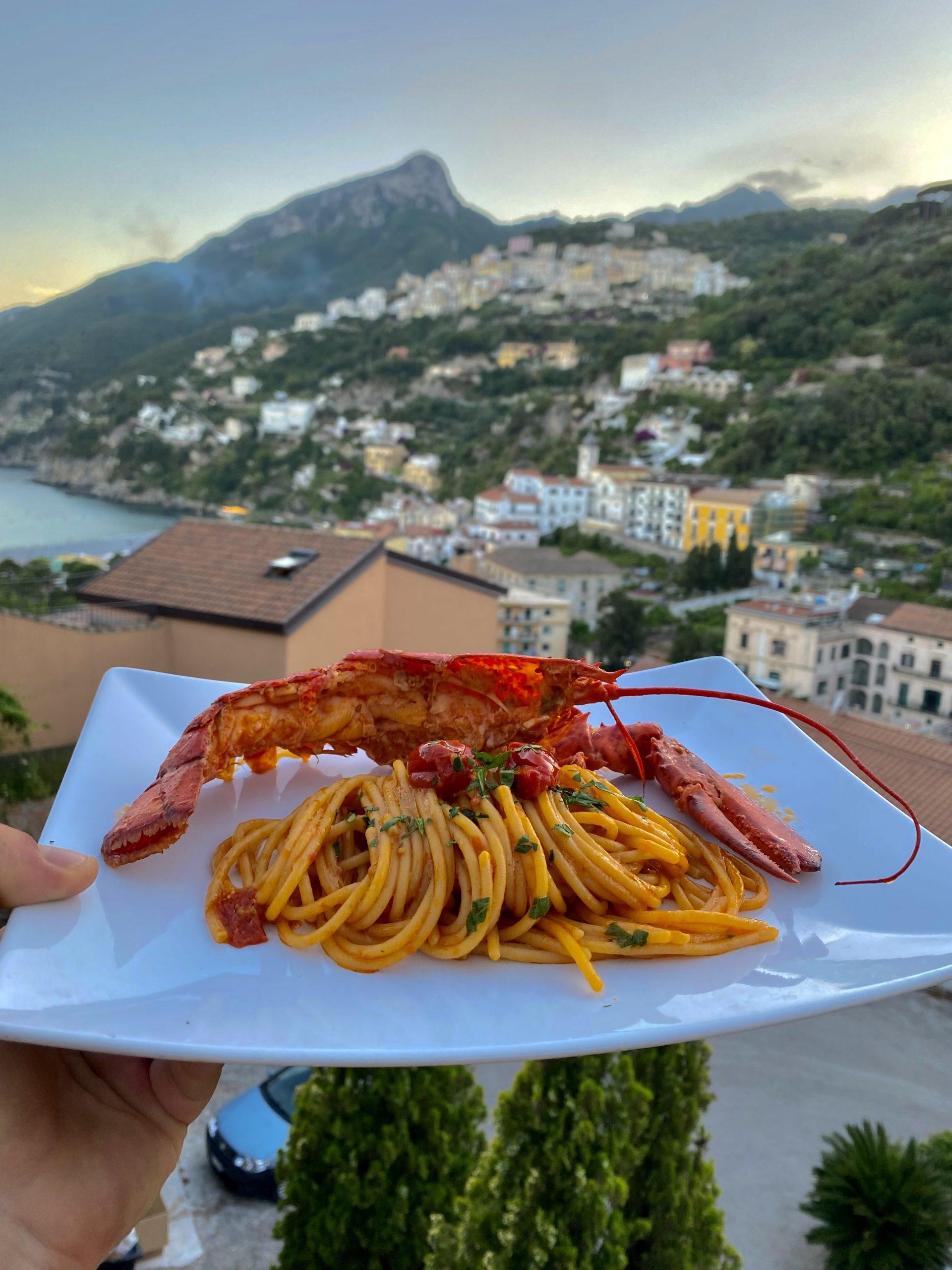 Ristorante Vietri Hotel Linguine Astice
